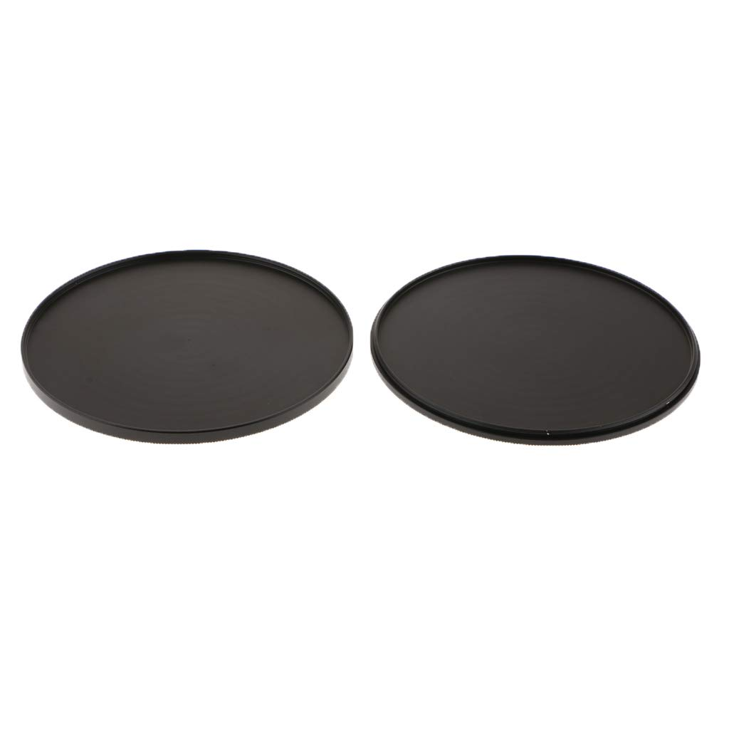 Baosity UV CPL Lens Filter Protection Case Cover Box Storage Cap Metal Black - 95mm Shockproof and Dustproof