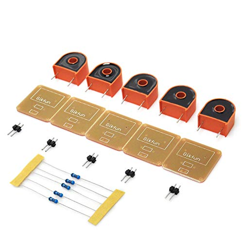 Gikfun DIY 5A Range AC Current Transformer Module for Arduino (Pack of 5pcs) EK1344x5
