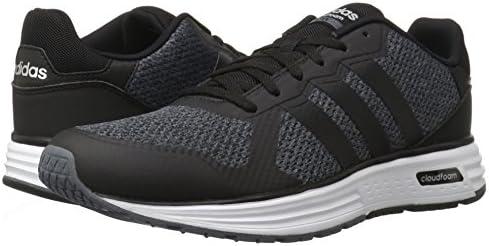 adidas Men's Cloudfoam Flyer Fashion Sneakers, Onix/Black/Matte ...