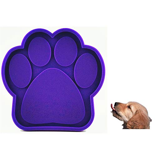 (FLY JOYS Dog Lick Pad Bath Buddy Dog Washing Distraction Device Grooming Helper Super Suction Just Spread Peanut Butter)