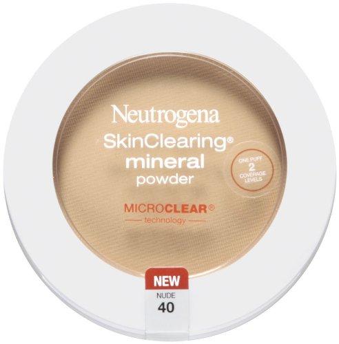 Neutrogena SkinClearing Mineral Powder, Nude 40