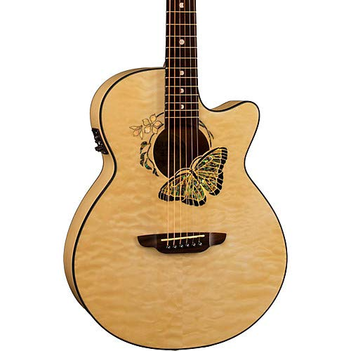 (Fauna Butterfly-Acoustic Electric Guitar)