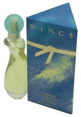 Wings By Giorgio Beverly Hills For Women. Eau De Toilette Spray 3.0-Ounce Bottle (Eau Toilette Bottle De Perfume)