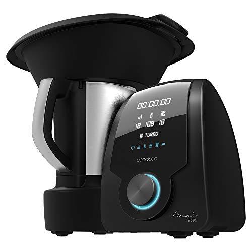 Cecotec Robot de Cocina Multifuncion Mambo 9590 con Jarra Habana, 30 Funciones, Bascula incorporada, Jarra de Acero INOX, Capacidad 3,3 litros, Apta para lavavajillas