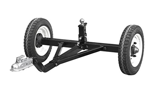 Tow Tuff TMD-1200ATV Weight Distributing Adjustable Trailer Dolly, 1200 lb - Tractor Trailer Dolly