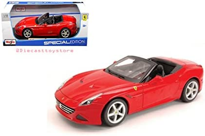 Ferrari California Die Cast Vehicles 31698RD Maisto 1:18 Special Edition