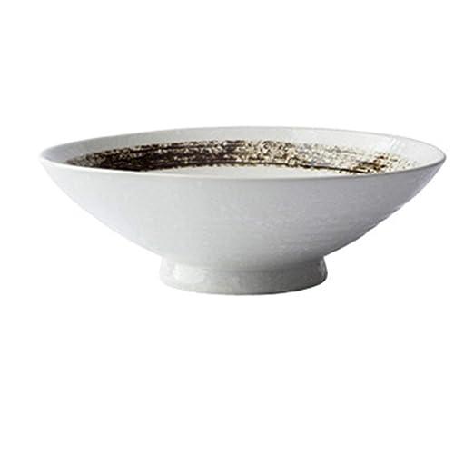 Gran Sopa Ramen Noodle Bowl Creativo Pintado a Mano Ensalada ...