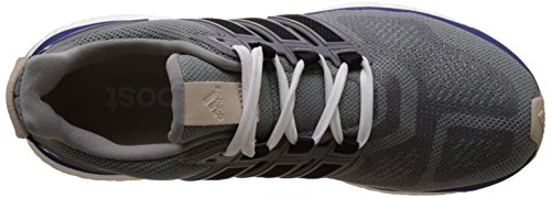 Adidas Mannen Energieboost 3 Loopschoenen Grijs (mid Grijs / Eenheid Inkt / Damp Groen)