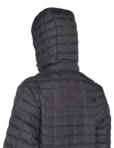 TNF M Chaqueta Hoodie Fusebox NORTH THE Grey Black Hombre FACE Thermoball PHaZn0R