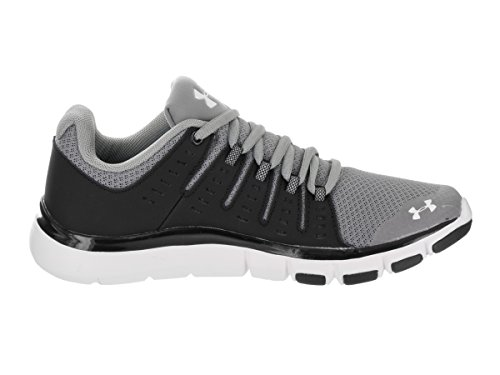 UA Women's Micro 2 Under G White Black Armour Team Steel Shoes Limitless Training E5qnFR