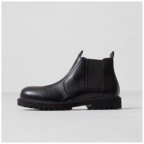 Lixus männer - casual mode stiefel, hohe stiefel, martin winter bangnan retro - chelsea - stiefel,schwarz,44