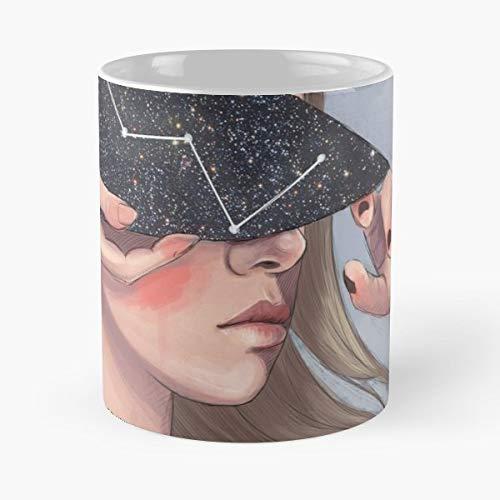 - Portrait Female Constellation - Coffee Mugs Ceramic
