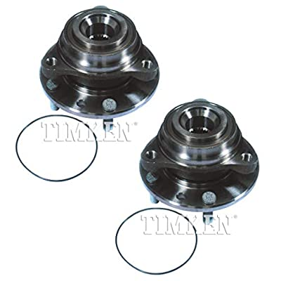 Pair Set of 2 Rear Timken Wheel Bearing Hub Kit for Chevy Corvette 1984-1996 RWD: Automotive