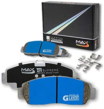 KM019152-2 Max Brakes Rear M1 Supreme Pads