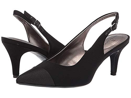 - Bandolino Womens Zipporah Slingback Pump Black 7.5 M