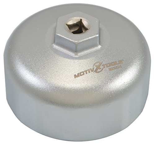 Motivx Tools BMW Oil Filter Wrench for 86mm Cartridge Style Oil Filter Housing Caps (N55 Oil Filter)