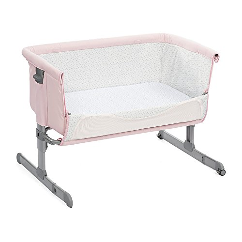 Chicco 2018 Side Sleeping Crib Next2Me'French Rose' Baby...