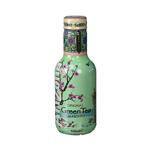 Arizona - Te Verde Con Ginseng Y Miel - 500 ml