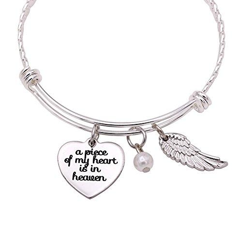 Melix Home A Piece of My Heart is in Heaven Bracelet