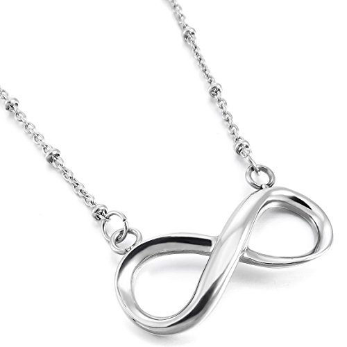 INBLUE Stainless Pendant Necklace Infinity