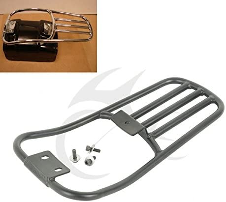 XMT-MOTO Rear Fender Luggage Mounting Rack fits for Harley-Davidson Softail Deluxe 2006-2018,Harley-Davidson Softail Fatboy 2007-2018