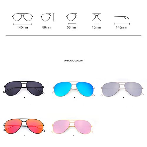 Lunettes grenouille Coloré Unis les de C de et L'Europe soleil Hommes couple lunettes conduite soleil mode tendance femmes miroir classique UV de lunettes États et H1Tqqt