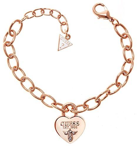 GUESS Rhodium Gold-plated Bracelet UBB21569-L - Guess Gold Plated Bracelet