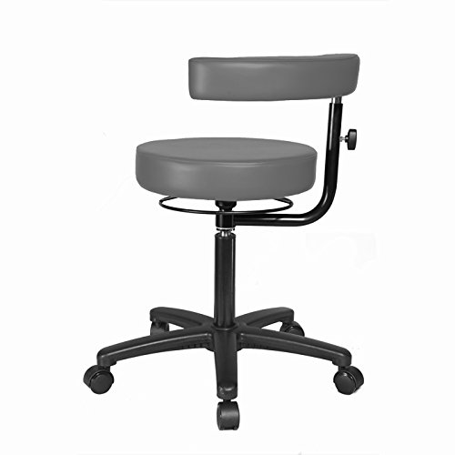 (Top Medical Exam Stool with Procedure Arm 19.5