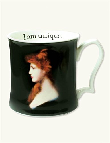Victorian Lady I Am Unique Redhead Mug ()