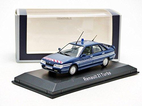Amazon.com: Norev 512116 1:43 Scale Renault 21 Turbo 1989 Gendarmerie Die Cast Model: Norev: Toys & Games
