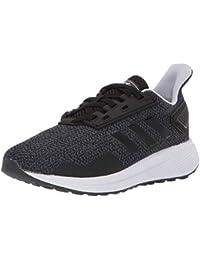 Unisex Duramo 9 Running Shoe, Black/White/aero Blue, 3.5 M US Big Kid