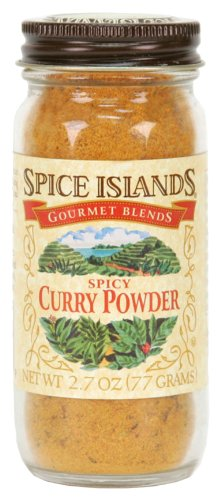 Spice Islands Curry Powder, Spicy, 2.7-Ounce (Pack of 3)