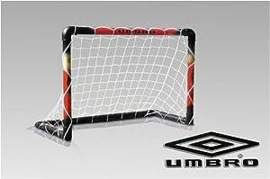Fußballtor UMBRO 100x70x50 cm inkl. Netz und Befestigung