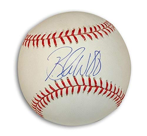 Autographed Brandon Webb MLB Baseball - Signed MLB Baseballs