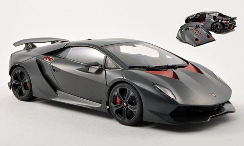 Lamborghini Sesto Sesto Sesto Elemento, met.-matt-grau , 2010, Modellauto, Fertigmodell, AUTOart 1:18 301c35