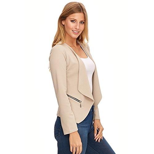 Traje de chaqueta beige mujer