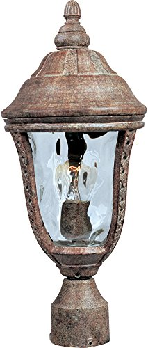 (Maxim Lighting 3100WGET DC Mount Whittier Cast 1-Light Outdoor Pole/Post Lantern)