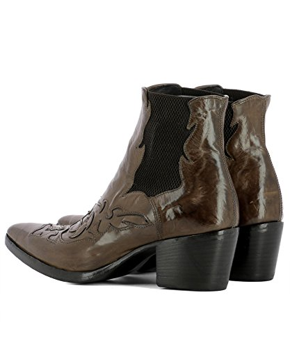 ALBERTO FASCIANI Women's URSULA46036BROWN Brown Leather Ankle Boots cheap sale fake amazon sale online buy cheap clearance prices for sale 4Z5zEZyp9
