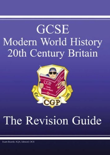 Download GCSE History 20th Century Britain Revision Guide: Revision Guide Pt. 1 & 2 by Richard Parsons (2001-07-09) ebook