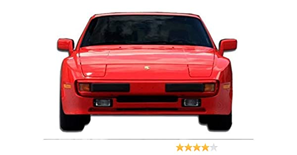 Amazon Com Kbd Body Kits Compatible With Porsche 944 Non Turbo 1983 1989 Oem Style 1 Piece Flexfit Polyurethane Front Lip Extremely Durable Easy Installation Guaranteed Fitment Made In The Usa Automotive