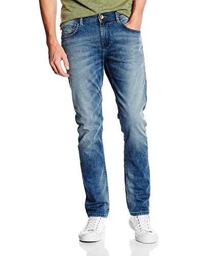 TOM TAILOR DENIM Piers Super Slim, Jeans Hombre Azul (Light Stone Wash Denim 1051)