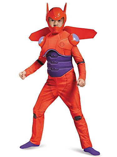 Red Baymax Deluxe Costume, Small (4-6) -