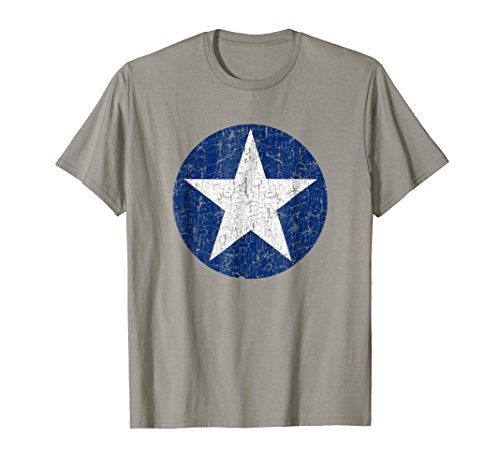 USAF Star Badge Pride T Shirt Gift US Air Force Future ()