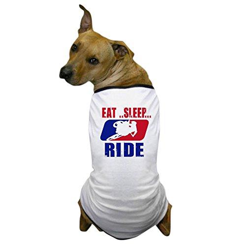 CafePress - Eat Sleep Ride 2013 - Dog T-Shirt, Pet Clothing, Funny Dog Costume