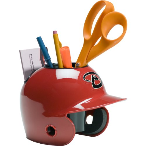 Schutt MLB Desk Caddy – Baseball Desk Organizer, Pencil Holder, Office Decor – Great Gift for Baseball Fans