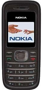 Nokia 1208 Unlocked Phone with Flashlight--U.S. Version with Warranty (Black)