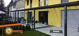 Alta calidad prikker-überdachungen schweng 16PLACAS DE policarbonato mm B: 4,00m x 5,00m T
