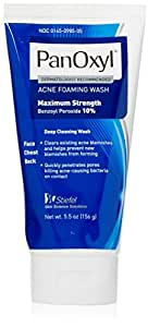 Amazon.com: Stiefel PanOxyl 10 Percent Foaming Wash: Beauty