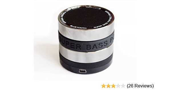 Amazon.com: Super Bass Bluetooth / Mini Tf Portable Speaker - Full Metal: MP3 Players & Accessories