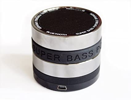 Super Bass Bluetooth / Mini Tf Portable Speaker - Full Metal